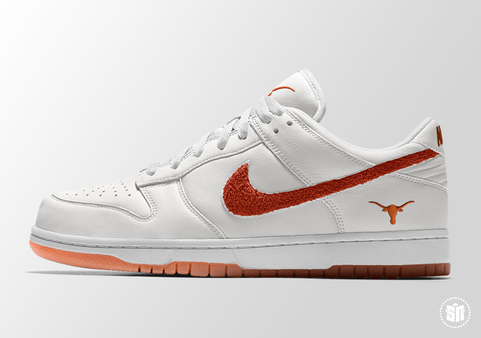 618d81a8e2a4 You can get started on your favorite silhouette to show your school spirit  right now at NIKEiD.