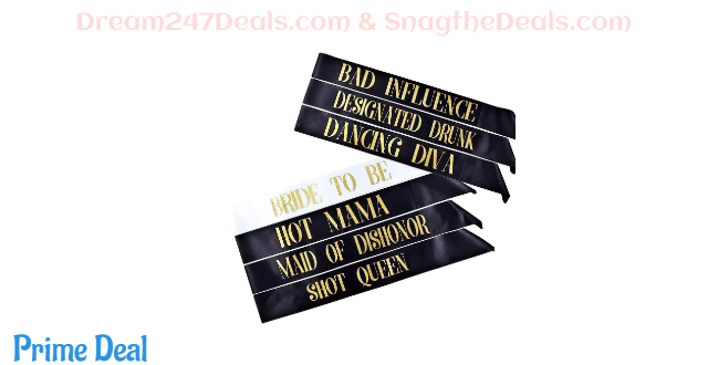 50% off Bachelorette Party Sash