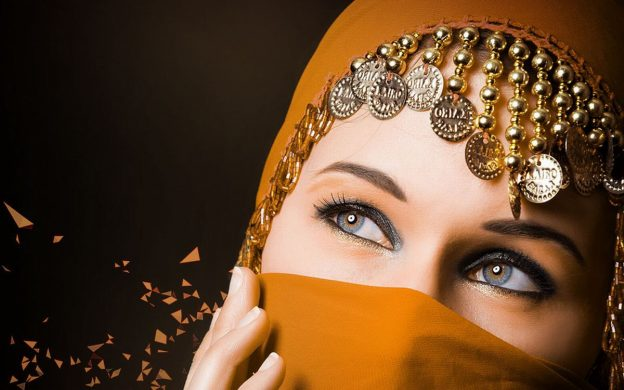 Arab girl hd photo