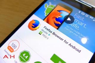 Browser Android / IOS Terbaik Terpopuler Teringan dan Paling Cepat - Firefox