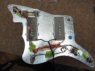 squier vintage modified jazzmaster modifications pt 4. Black Bedroom Furniture Sets. Home Design Ideas