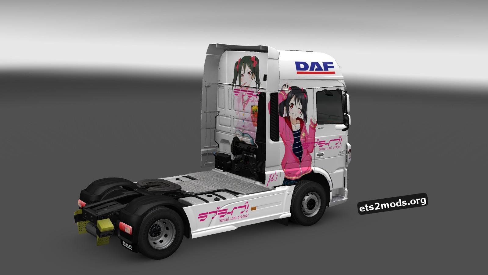 Yazawa Nico Skin for DAF Euro 6