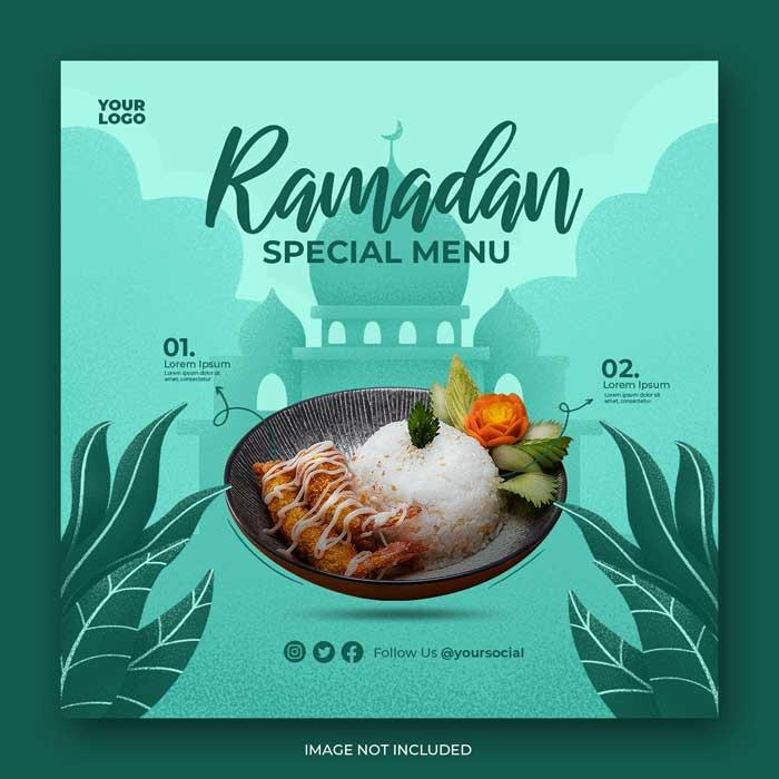 Ramadan Kareem PSD Template