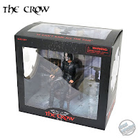 SDCC 2021 Diamond Select The Crow Eric Draven in Chair Action Figure Box Set 01