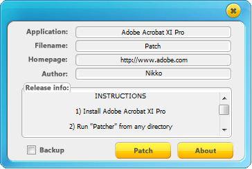 Adobe acrobat xi pro patch download