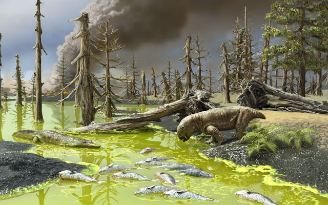 Animals died in 'toxic soup' during Earth's worst mass extinction: A warning for today