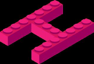 lettere alfabeto con i lego