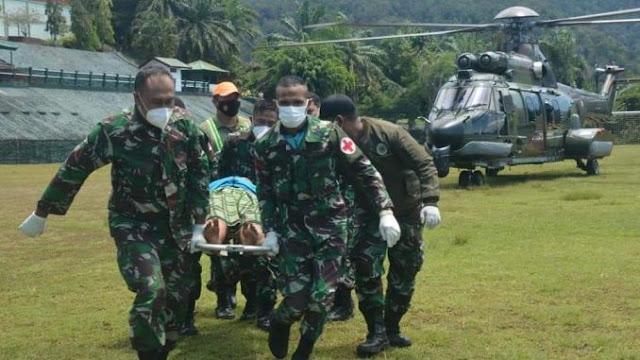 Aparat TNI Berhasil Evakuasi Korban Teroris OPM di Distrik Kiwirok