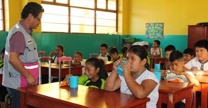 Qali Warma realiza visitas inopinadas a II.EE. para verificar adecuada prestación del servicio alimentario escolar - www.qaliwarma.gob.pe