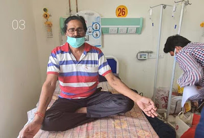 Madhya Pradesh Shahdol News: मात्र 10 दिन में Coronavirus से स्वस्थ होकर घर लौटे 65 वर्षीय श्री हरीश श्रीवास्तव