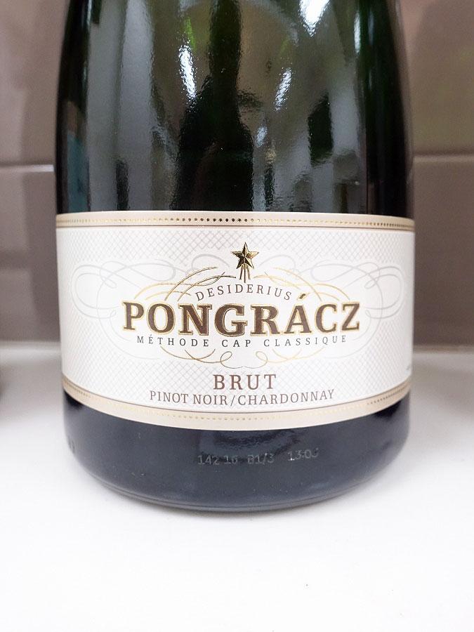 Desiderius Pongrácz Brut Cap Classique Sparkling Chardonnay/Pinot Noir (90 pts)