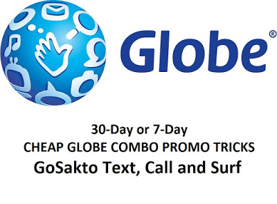 Globe Call Text with Combo Promos