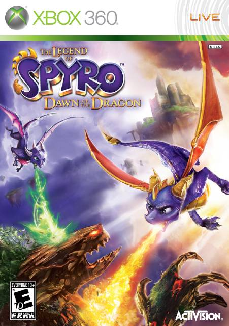 The Legend of Spyro Dawn of the Dragon [Region Free][ISO