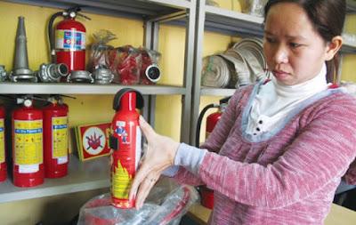 Khách hàng băn khoăn không biết đâu là bình chữa cháy đạt chuẩn, đúng chất lượng
