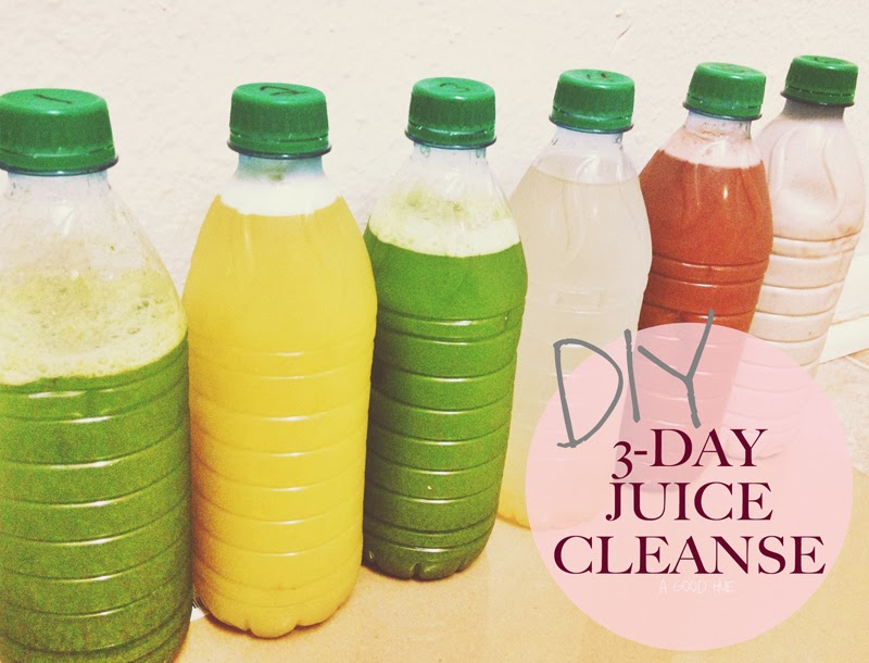 How To: 3 Day DIY Juice Cleanse with Shopping List - A Good Hue