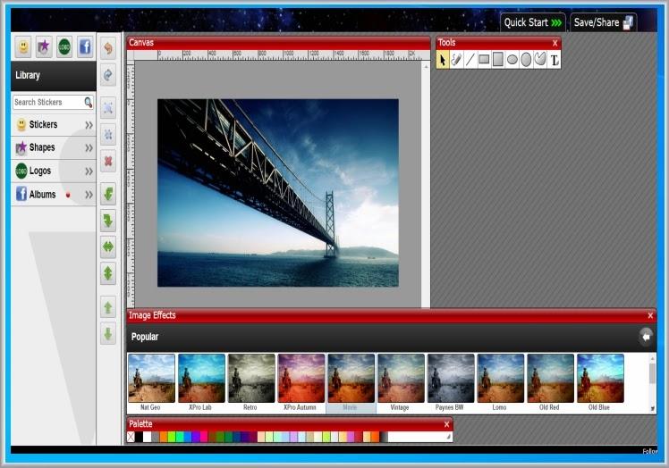 ImageBot : Online επεξεργασία γραφικών, σχεδίαση, και δημιουργία λογότυπων