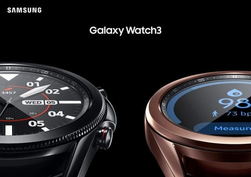 Samsung announced the Galaxy Watch 3 and Galaxy Buds Live