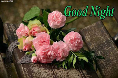 Good Night Images with roses