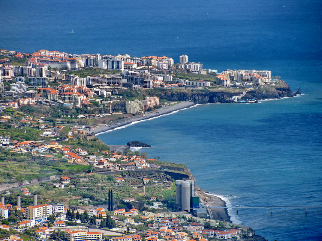 Formosa beach and buildings