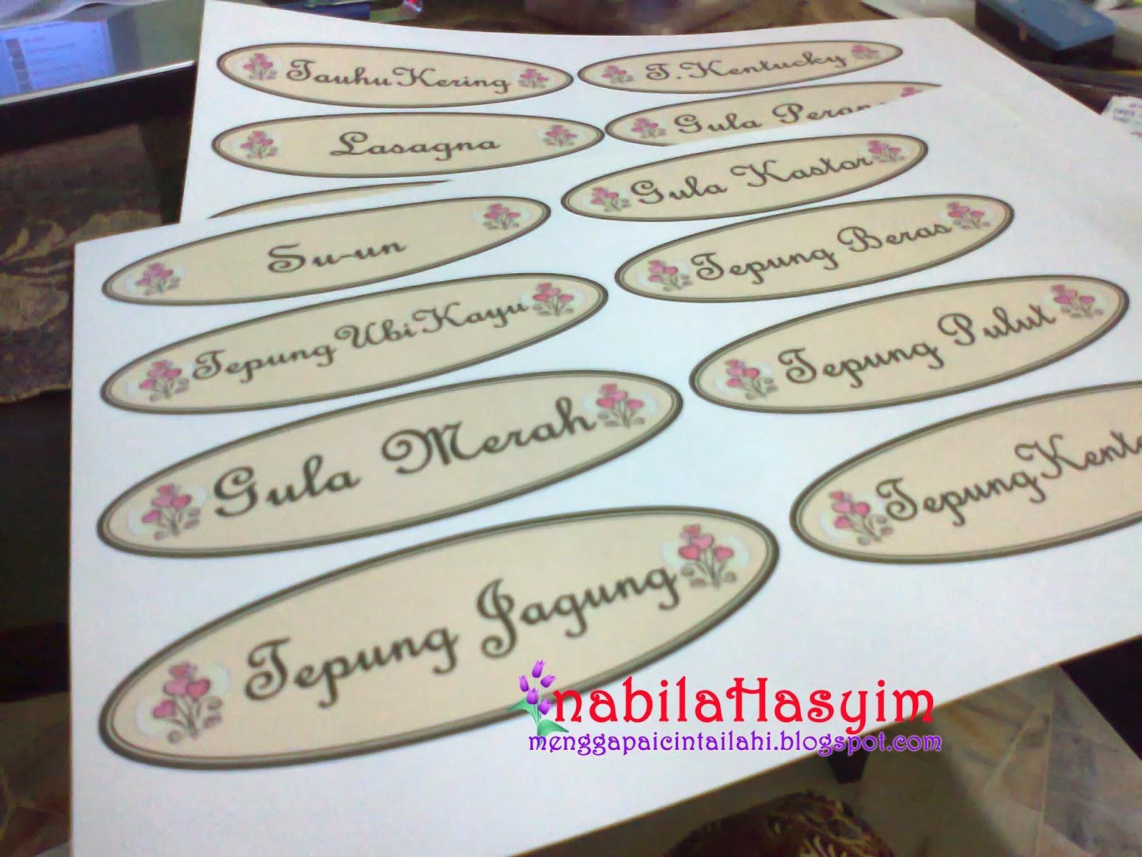 Sticker Dah Nampak