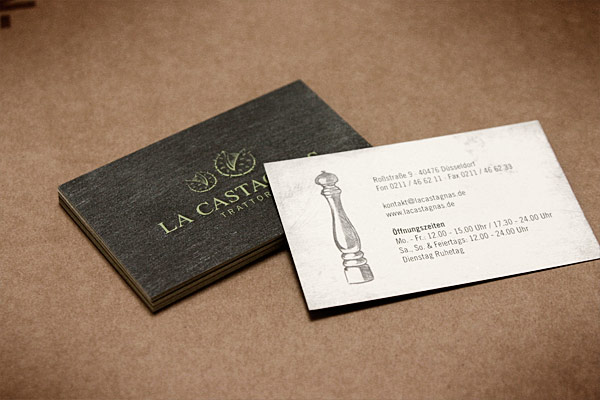 Restaurant Business Card Designs Images - Business Card Template