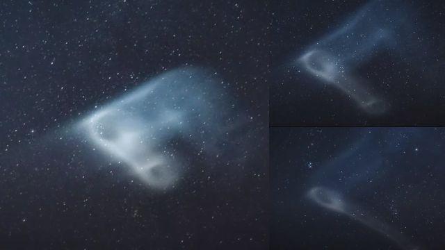 Marineros presenciaron una luz misteriosa en el cielo sobre el Océano Índico, 12 de marzo de 2021
