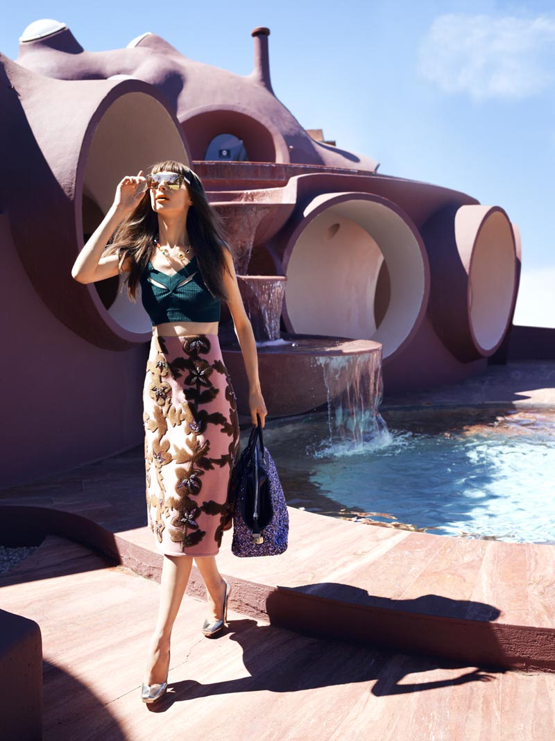 Fashion Designer Pierre Cardin S Bubble House Photo Essays