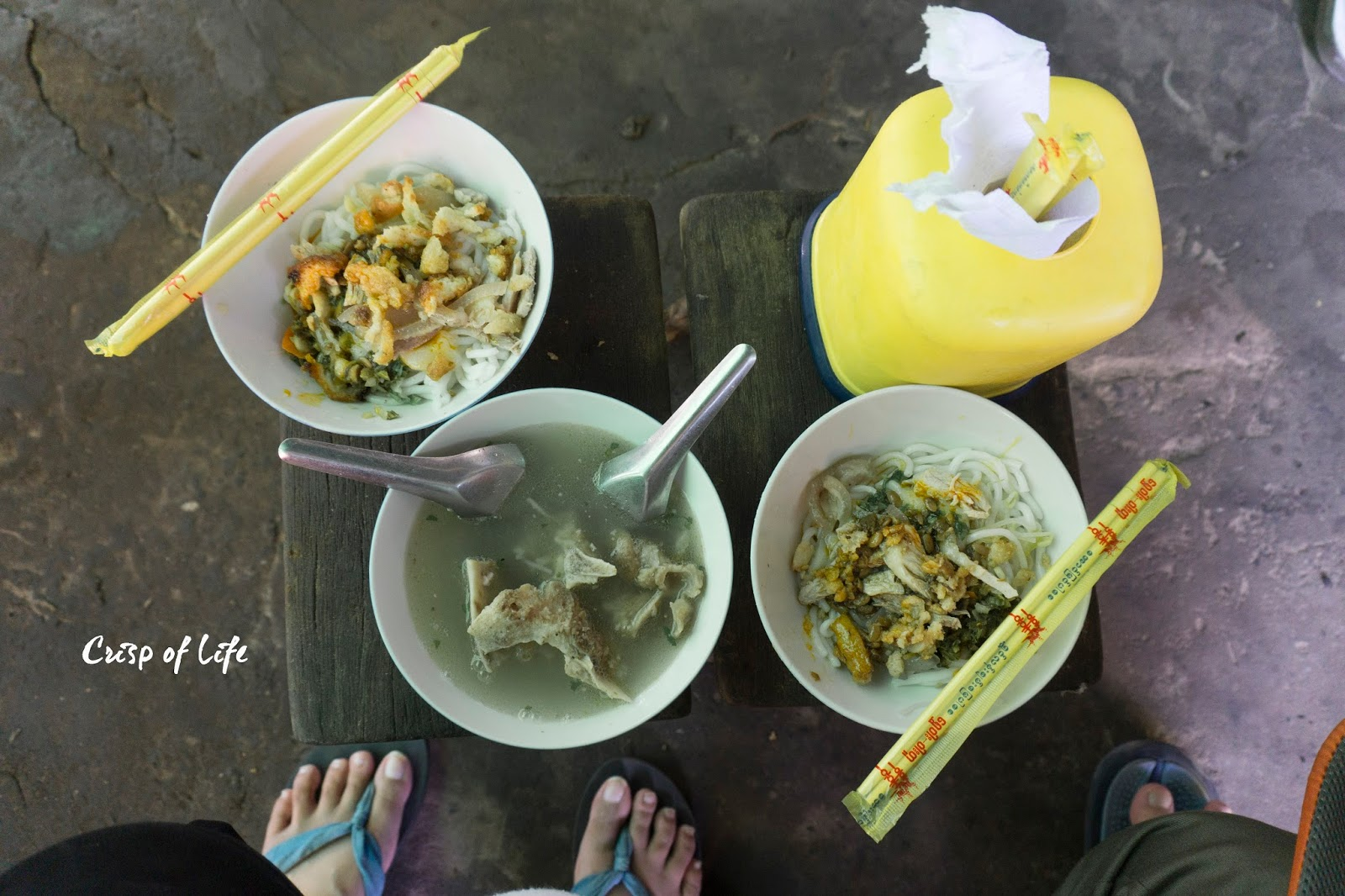 Food to eat in Mandalay
