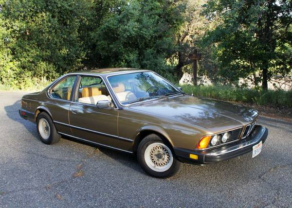 1980 BMW 633CSI Coupe