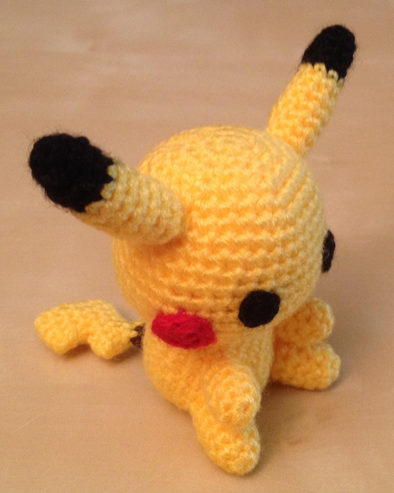 Amigurumi Pikachu Hakeln