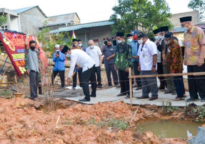Cetak Generasi Berakhlak Mulia, Isdianto Dukung Penuh Pembangunan Tempat Ibadah