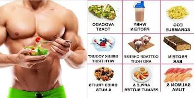 The most important foods to build muscle