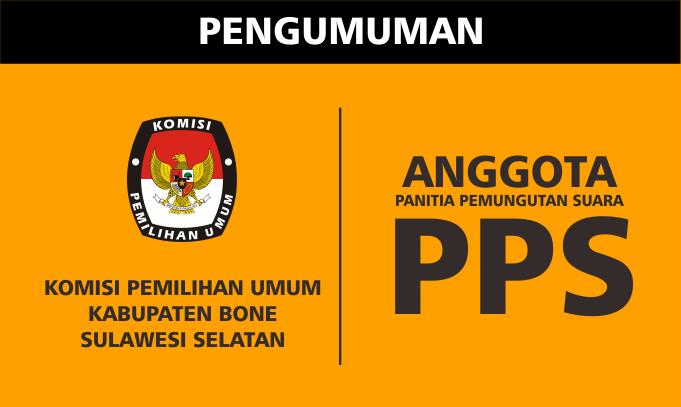 KPU Bone Tetapkan 1.116 Anggota PPS, Ini Nama-namanya