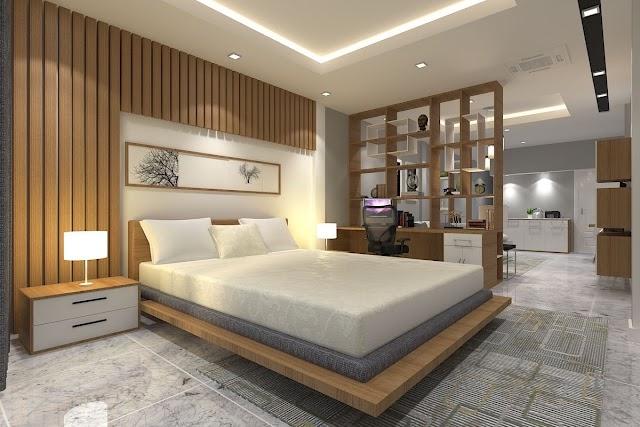 Modern Platform Bed Designs For Bedroom