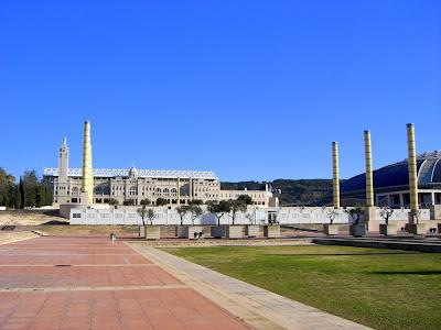 Olympic Stadium of Montjuïc in Barcelona