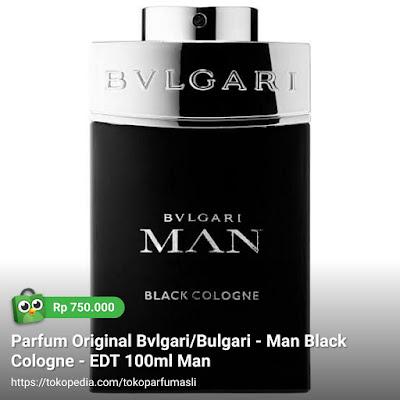 toko parfum asli parfum original bvlgari man black cologne edt 100ml man