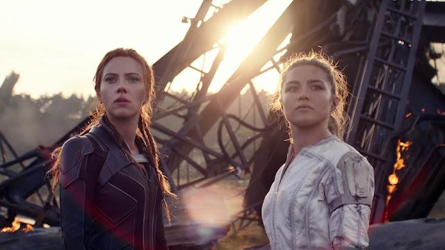 Scarlett Johansson y Florence Pugh. Imagen de Disney+.