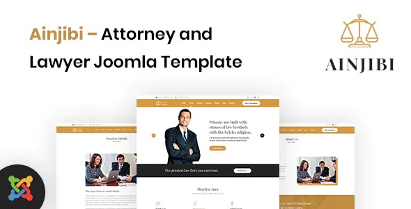 Best Attorney and Lawyer Joomla Template