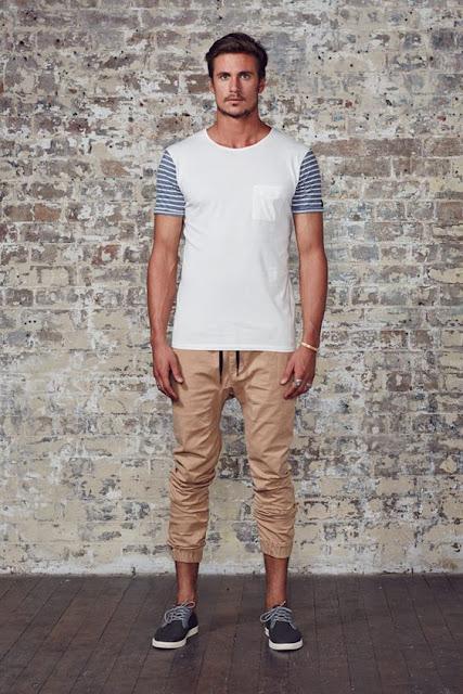 look masculino com calça jogger