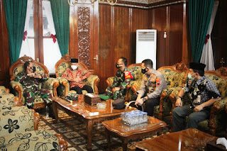 Pangdam IV/Diponegoro Mayjen TNI Rudianto Ke Wilayah Kabupaten Jepara