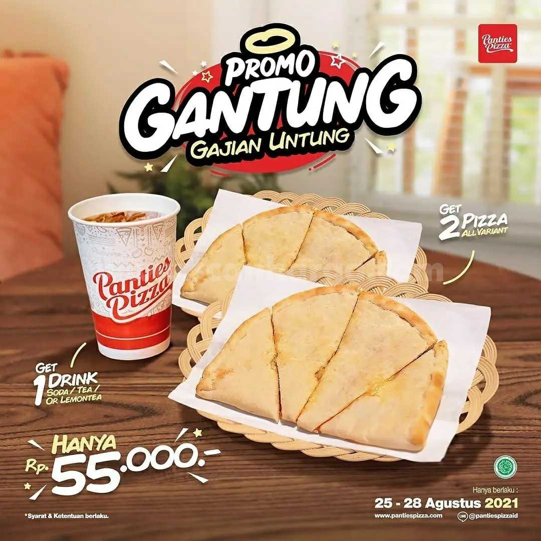 Panties Pizza Promo Gantung (Gajian Untung) 25 - 28 Agustus 2021