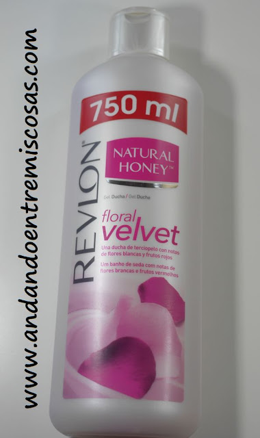 Gel Floral Velvet De Natural Honey