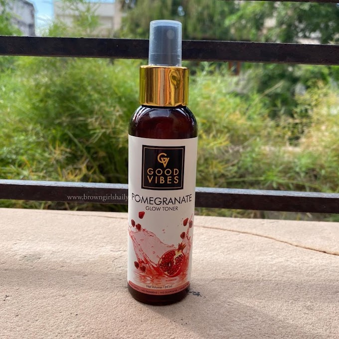Good Vibes Pomegranate Toner Review