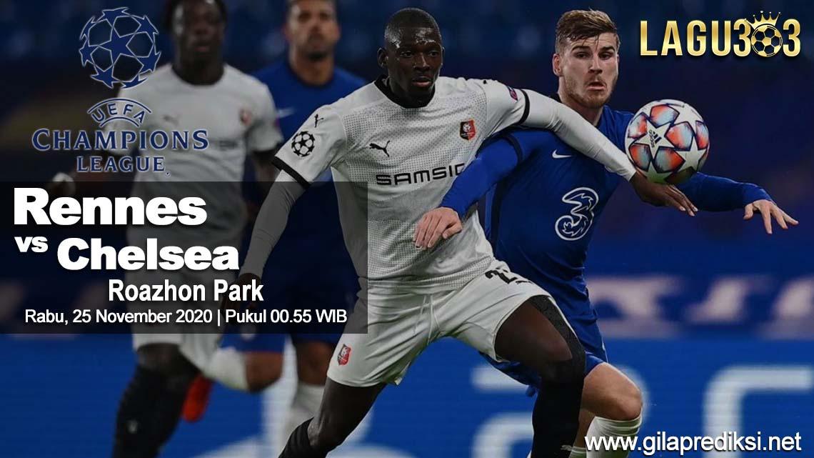 Prediksi Rennes vs Chelsea 25 November 2020 pukul 00.55 WIB