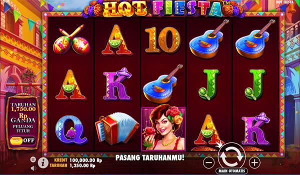 Main Gratis Slot Indonesia - Hot Fiesta Pragmatic Play