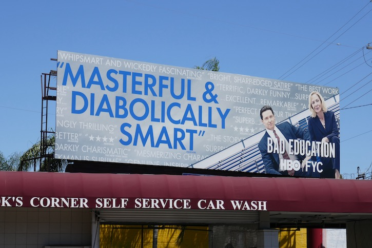 Bad Education Emmy FYC billboard