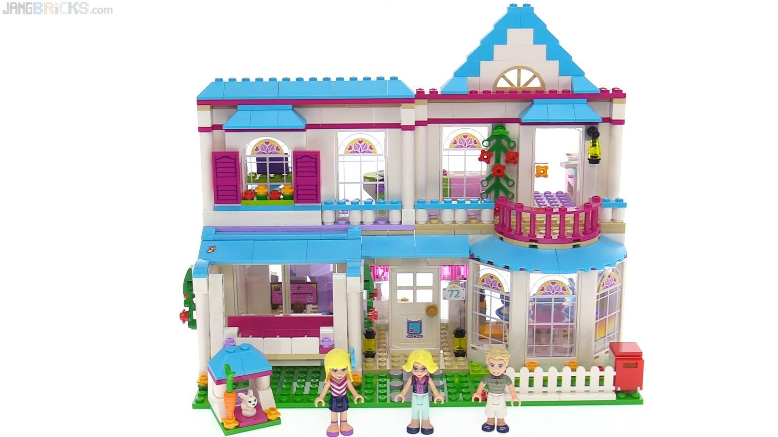 Lego Friends Stephanie S House Review