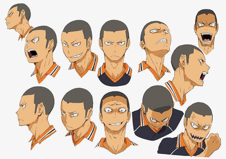 Nuevos diseños de personajes del Anime Haikyuu!! | Otaku ...