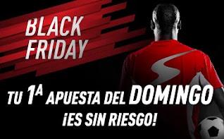 sportium BLACK FRIDAY: primera Apuesta Sin Riesgo 26-29 noviembre 2020