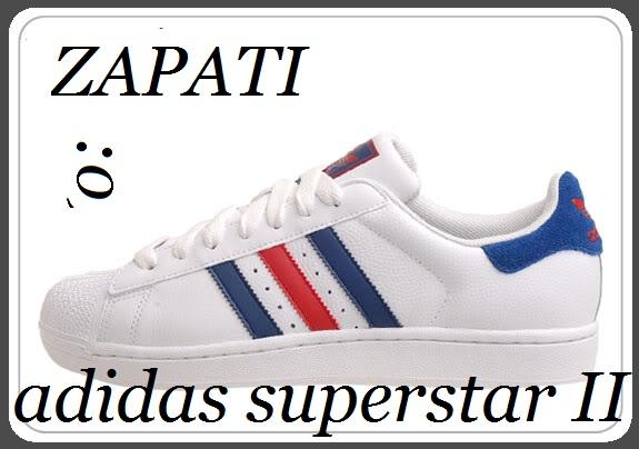 best sneakers 796f9 46670 Adidas Superstar II cuero blanco talle 44 oferta!